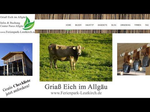 Buchungsmöglichkeiten Center Parcs Park Allgäu Ferienpark Leutkirchde