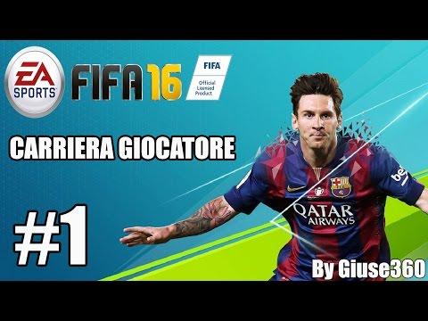 FIFA 16 Carriera Giocatore #1 | SI INIZIA!!! [By Giuse360]