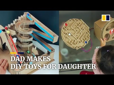 Creative Father's Home-made Toys Go Viral In China