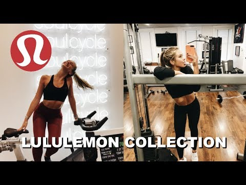 my LULULEMON collection