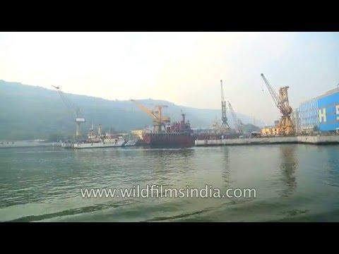 Hindustan Shipyard Limited (HSL) in Visakhapatnam