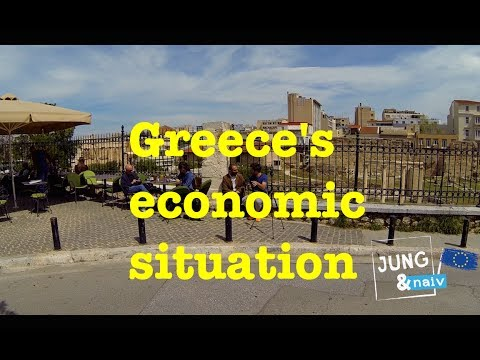 Greece's economic situation - Nick Malkoutzis - Jung & Naiv: Episode 151