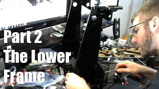 anet a8 3d printer build guide part 2 the lower frame