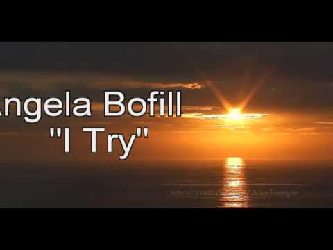 Angela Bofill  I TRY new versi