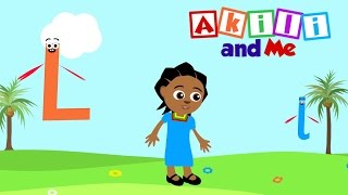 Die Buchstaben L-Song | Educational phonics song von Akili und Mich, die afrikanischen Edu-Cartoon