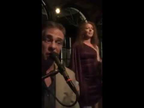 Adam Austin Arnold and Helena Redman at the Leopard Room in Palm Beach Dahlinks! 7/15/2017