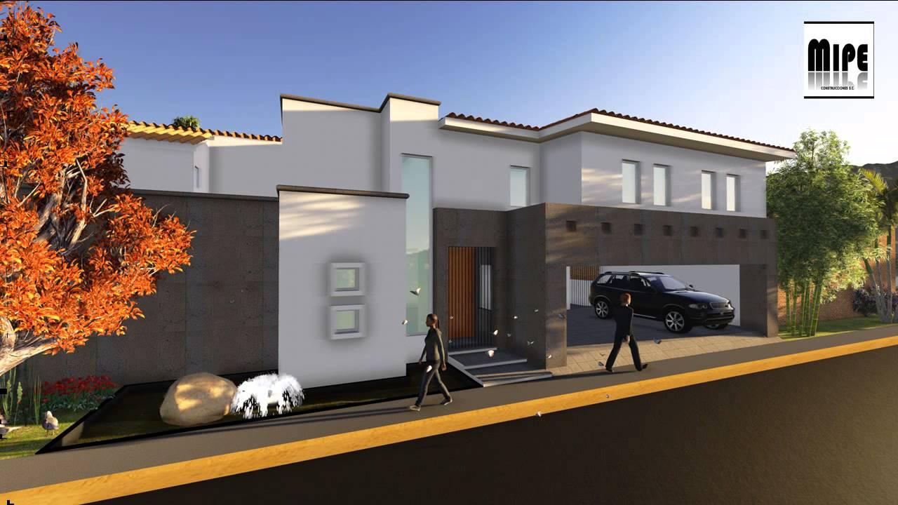 Planos de casa residencial proyecto casa youtube for Proyectos de casas