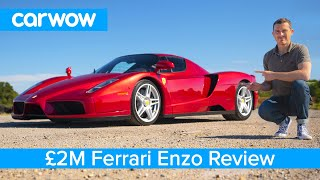 Ferrari Enzo review - see why it's worth £2M and is my favourite car EVER!