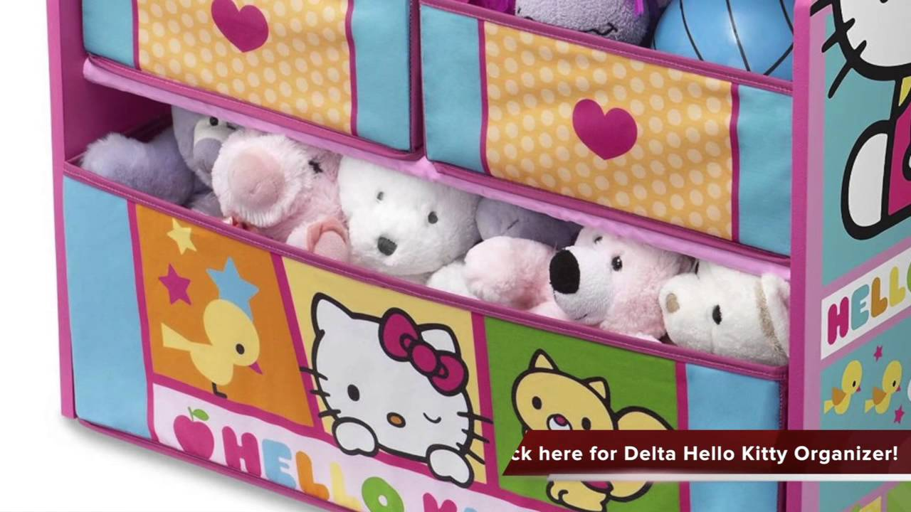 Review Of Delta Children Hello Kitty Multi Bin Organizer