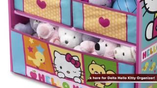 Review of Delta Children Hello Kitty Multi Bin Organizer