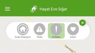 Hayat Eve Sığar Uygulaması - T.C. Sağlık Bakanlığı Yayınladı HayatEveSığar EvdeKal