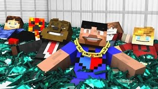 Minecraft Song ♪ 'Victory Chant' a Minecraft Song Parody (Minecraft Animation)