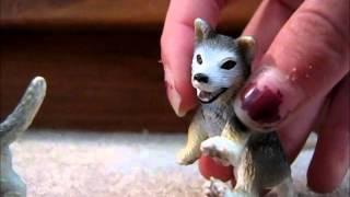 Schleich wolf movie ( BETTER VERSION! ) part 1 ( 1st kill )