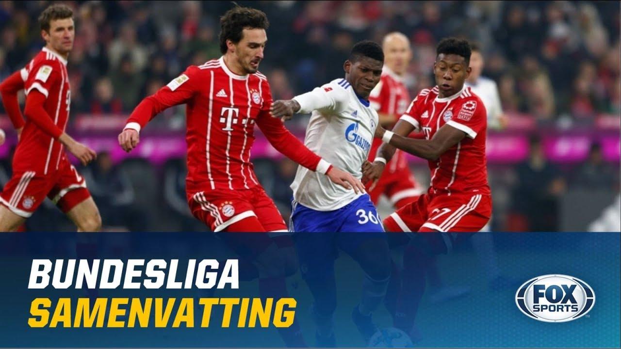 Highlights Samenvatting Bayern München Schalke 04