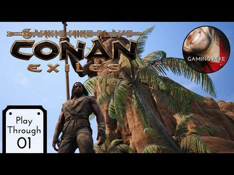 Starting Single Player - Conan Exiles: The Frozen North (Gameplay Broadcast) - [pc 1080p]