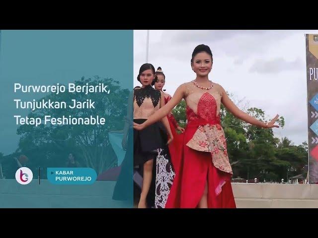 Purworejo Berjarik, Tunjukkan Jarik Tetap Feshionable