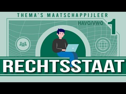 Rechtsstaat havo 4