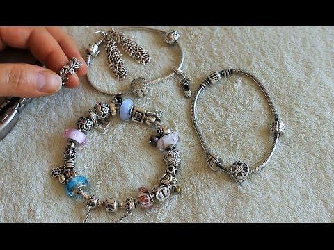 Пандора. Мои любимые браслеты Pandora.
