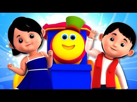 Bob The Train   Nursery Rhymes For Children   Kindergarten Songs For Kids