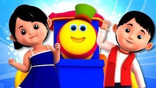 Bob The Train | Nursery Rhymes For Children | Kindergarten Songs For Kids