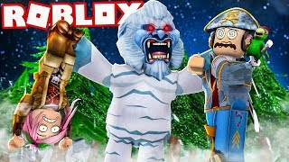 "THE SNOW MONSTER! - ROBLOX ""TIME VIEW"""