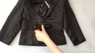 Пиджак для девочки Италия 98561. Обзор на брендовые детские вещи. Купить пиджак для девочки.