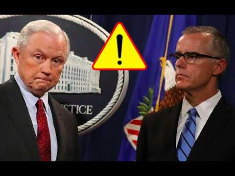 FBI Deputy Director Andrew McCabe FIRED by Attorney General Jeff Sessions! 3/16/18