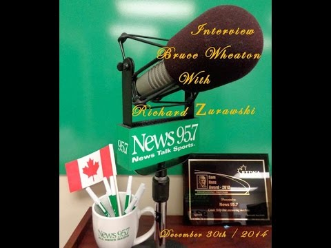 """Bruce Wheaton & Richard Zurawski """"Talkin' Music"""" News 95/7 Halifax NS Dec. 30th /  2014"""
