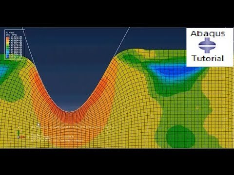 How using adaptive mesh will helps to get accurate results in Abaqus.