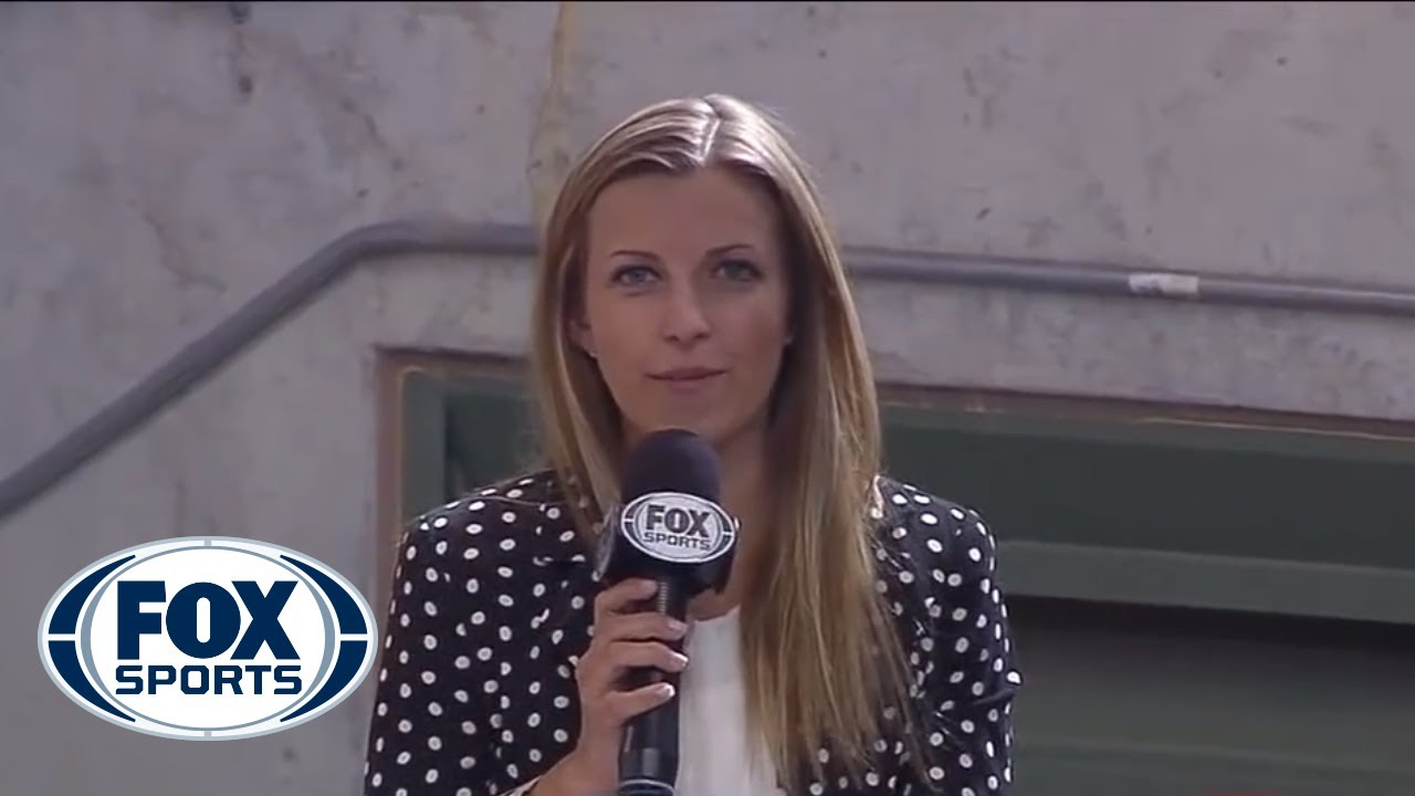 Sideline Reporter Hit by Baseball, Continues Reporting