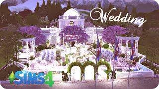 The Sims 4: Строим Свадебный лот ◊ Участок для свадьбы ◊ Wedding lot