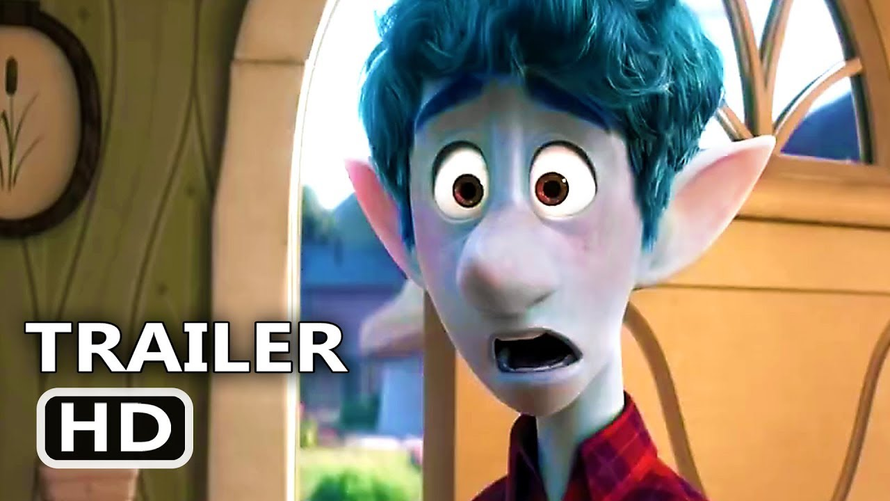 ONWARD Official Trailer (2020) New Pixar Animation Movie HD