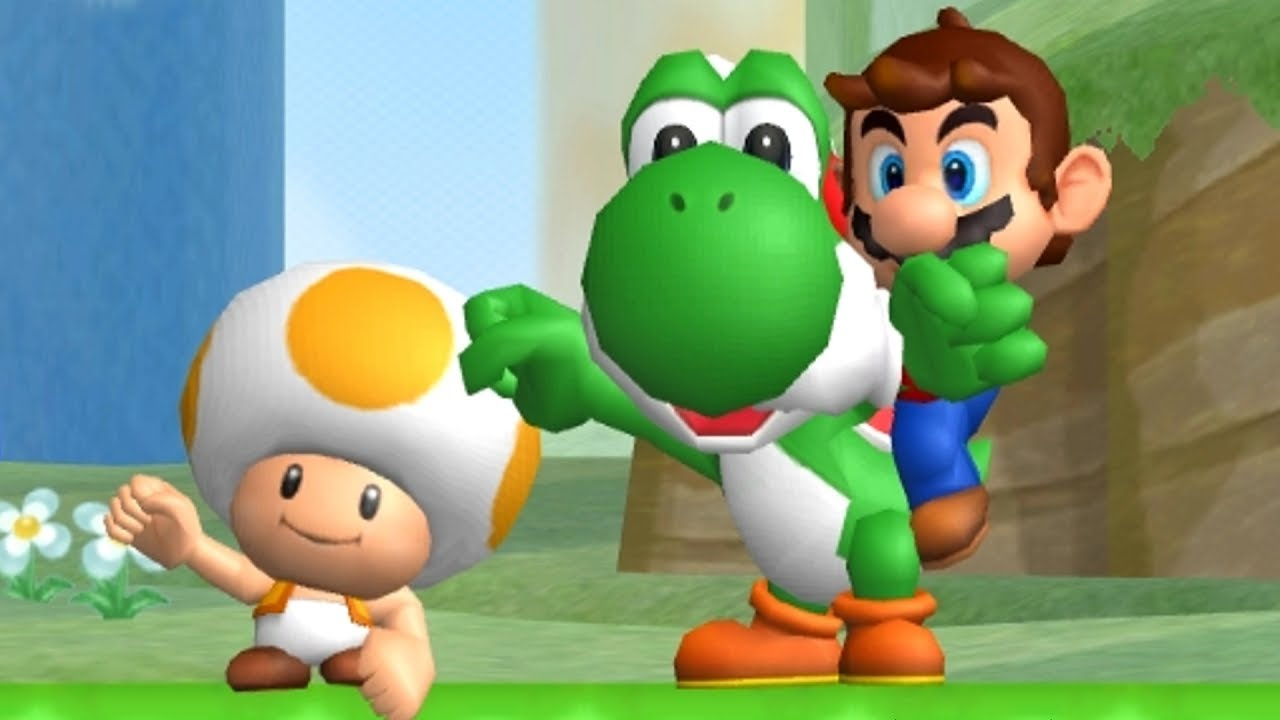 It is a picture of Revered Mario Bros Picture