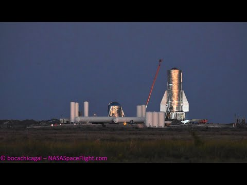 SpaceX Starship Mk1 - Opening Test Day - First Vent - November 18, 2019