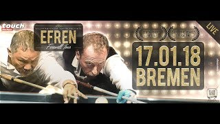 Efren Reyes Farewell Tour - Final Clash of The Titans (7/8) Stop Billardfreunde Bremen e.V.