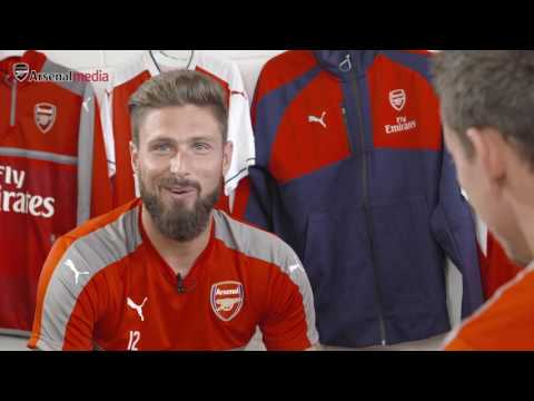 Olivier Giroud calls out Conor McGregor! | Rapid Fire