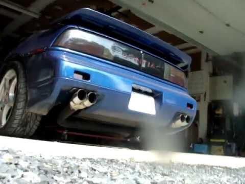 Turbo 2 8 Fiero Exhaust Youtube