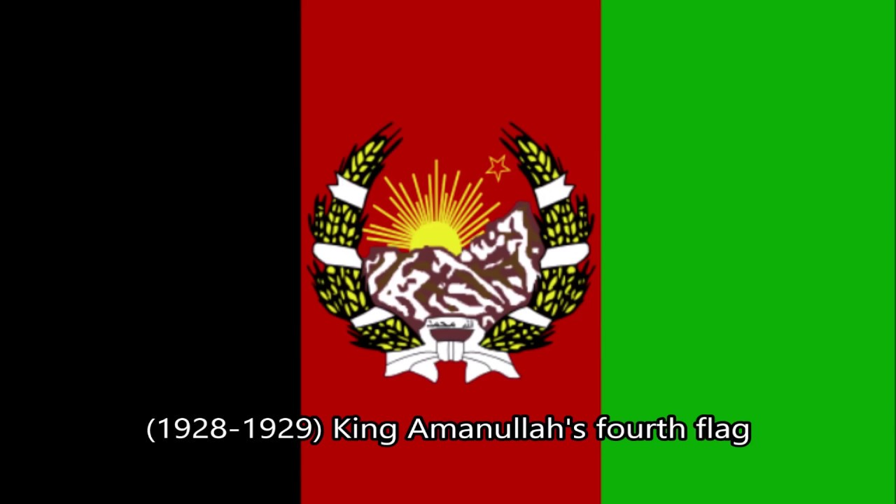 Simple History of Afghanistan's Flags