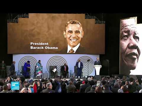 أوباما في جنوب أفريقيا للاحتفال بذكرى ميلاد مانيلا  - نشر قبل 4 ساعة