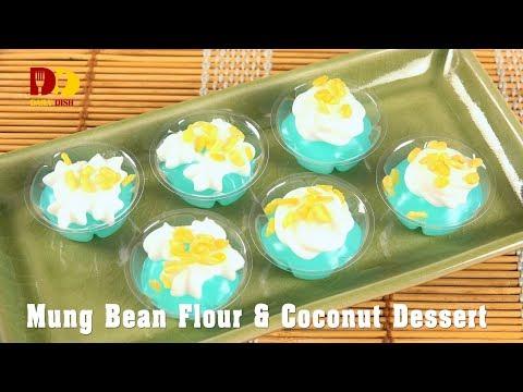 mung-bean-flour-and-coconut-dessert-|-thai-dessert-|-ka-nom-leum-kleun-|-ขนมลืมกลืน