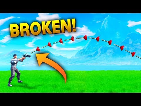 REALLY *BROKEN* GRAPPLER!! - Fortnite Funny WTF Fails and Daily Best Moments Ep.882