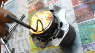 Webasto ThermoTop E - ремонт неразборной горелки