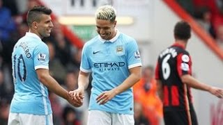 bournemouth vs manchester city 0 4 all goal highlights 2016