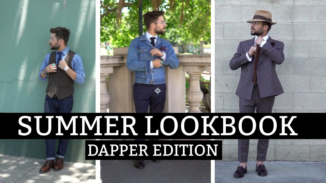 [VIDEO] - Dapper Lookbook | How to Dress Well During Summer | Summer  Outfit Inspiration 4
