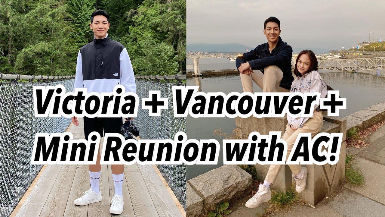 A Trip to Victoria & Vancouver + Reunion with AC! | Darren Espanto