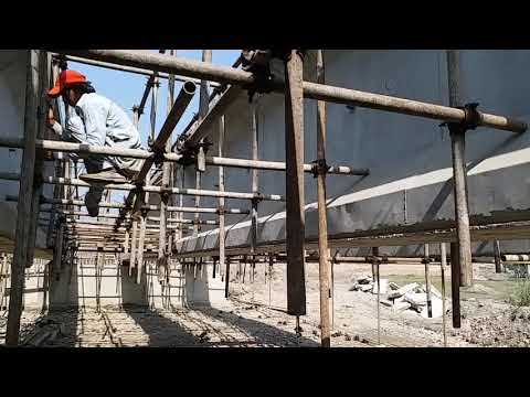 Bridge Construction || Formwork of Deck Slab in Progress