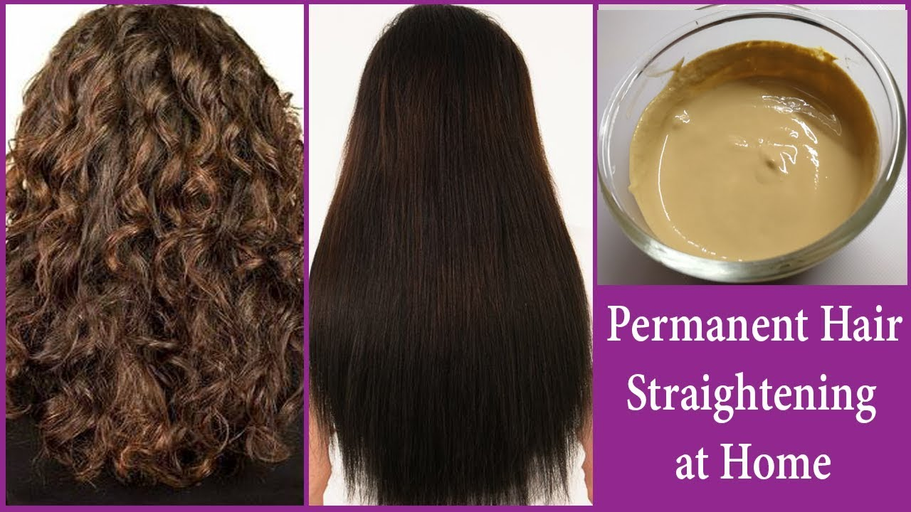 Permanent Smooth Hair Straightening At Home Instant