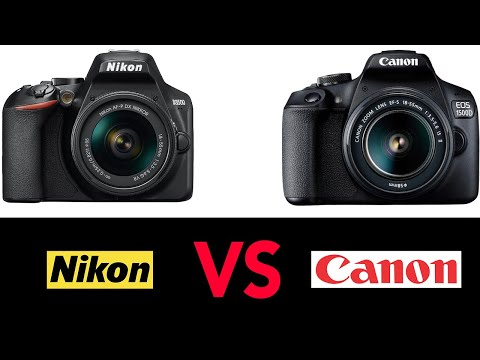 Nikon D3500 Vs Canon Rebel T7 - Which Is The Best DSLR Camera For Beginners?