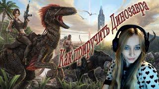 ARK Survival Evolved Как приручить Динозавра, встреча с Друзьями