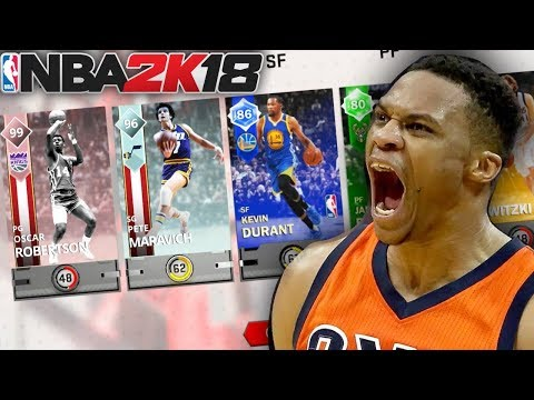 GOD SQUAD DRAFT!!! NBA 2K18 PACK AND PLAYOFFS